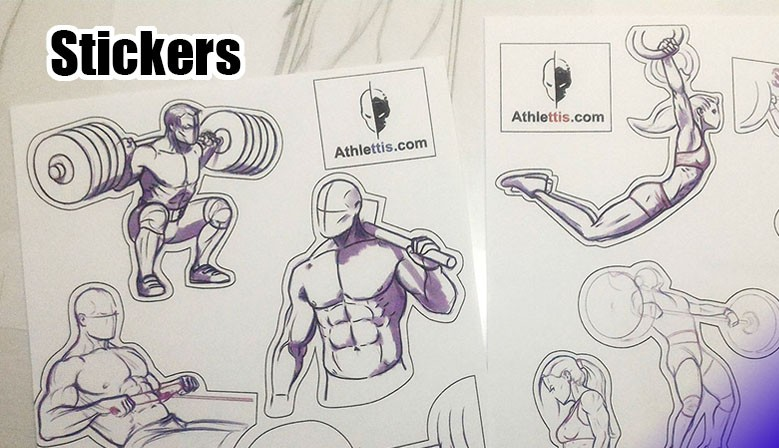 CrossFit stickers