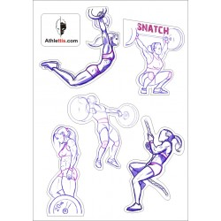 Crossfit_girl_stickers